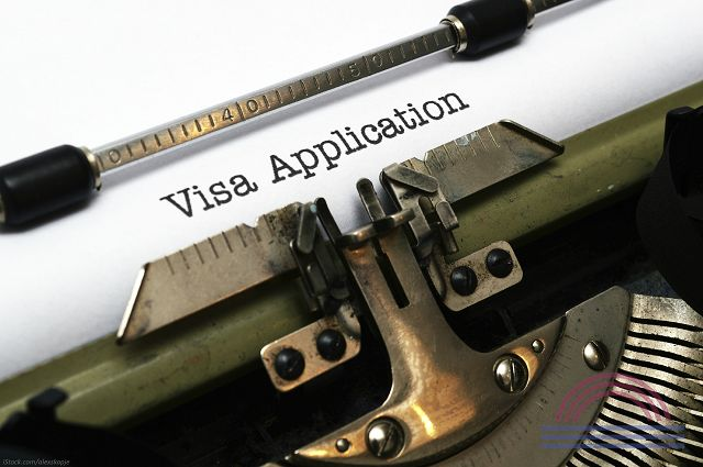 your visa application