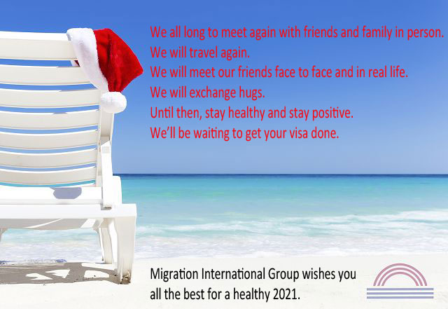 Sydney Migration International wishes you a healthy 2021